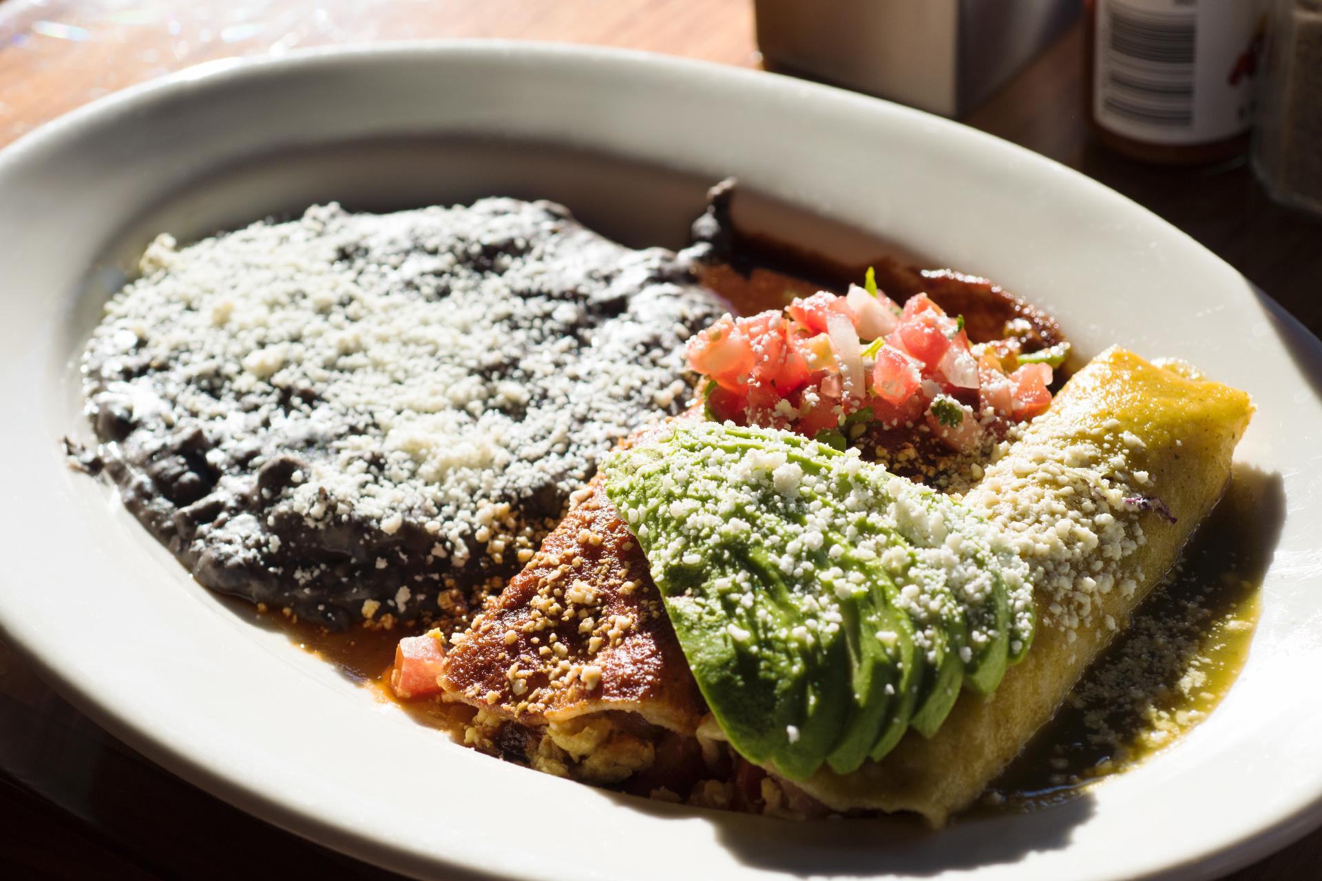 Eric's Breakfast Enchiladas