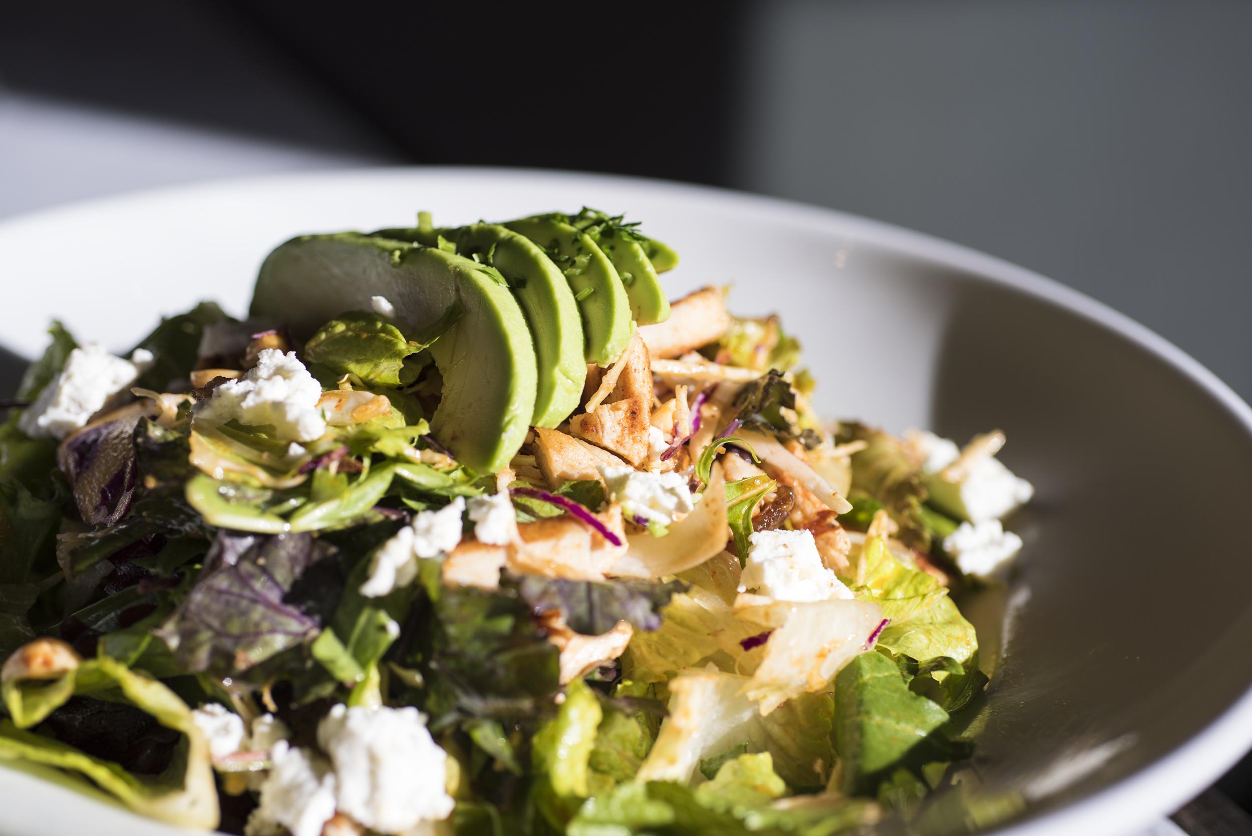 Spanish Style Roasted Chicken Salad