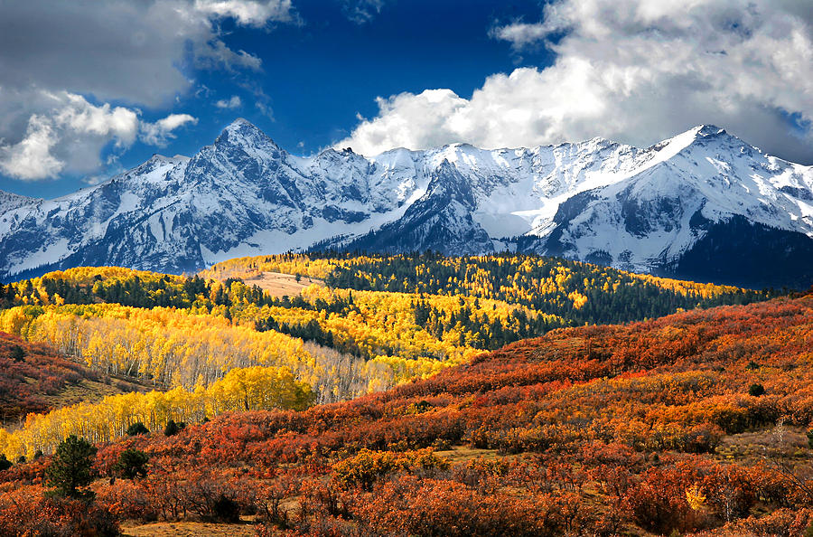 Colorado's exquisite San Juan Mountains, where Brian grew up.
