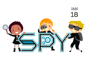 Mini Spy School (5-8 yrs)