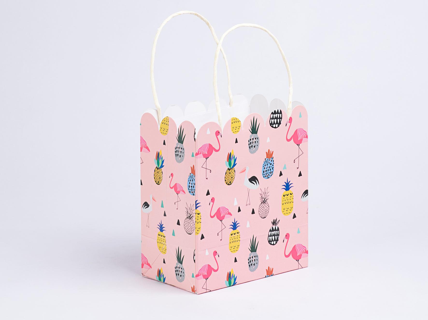 Flamingo Gift Bag Small.JPG