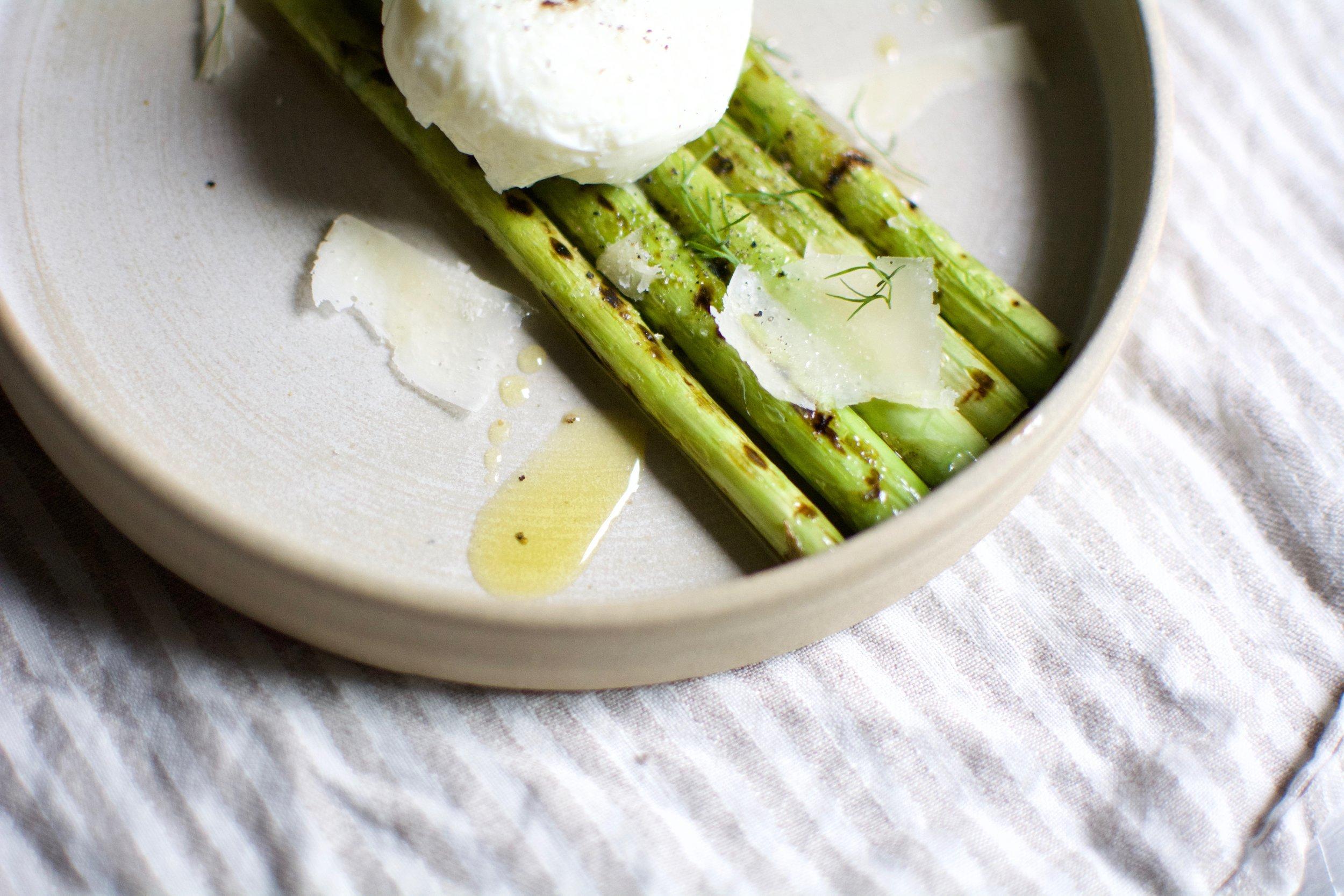 Asparagus & Poached Eggs | Healthy Recipes | Olea of Monemvasia