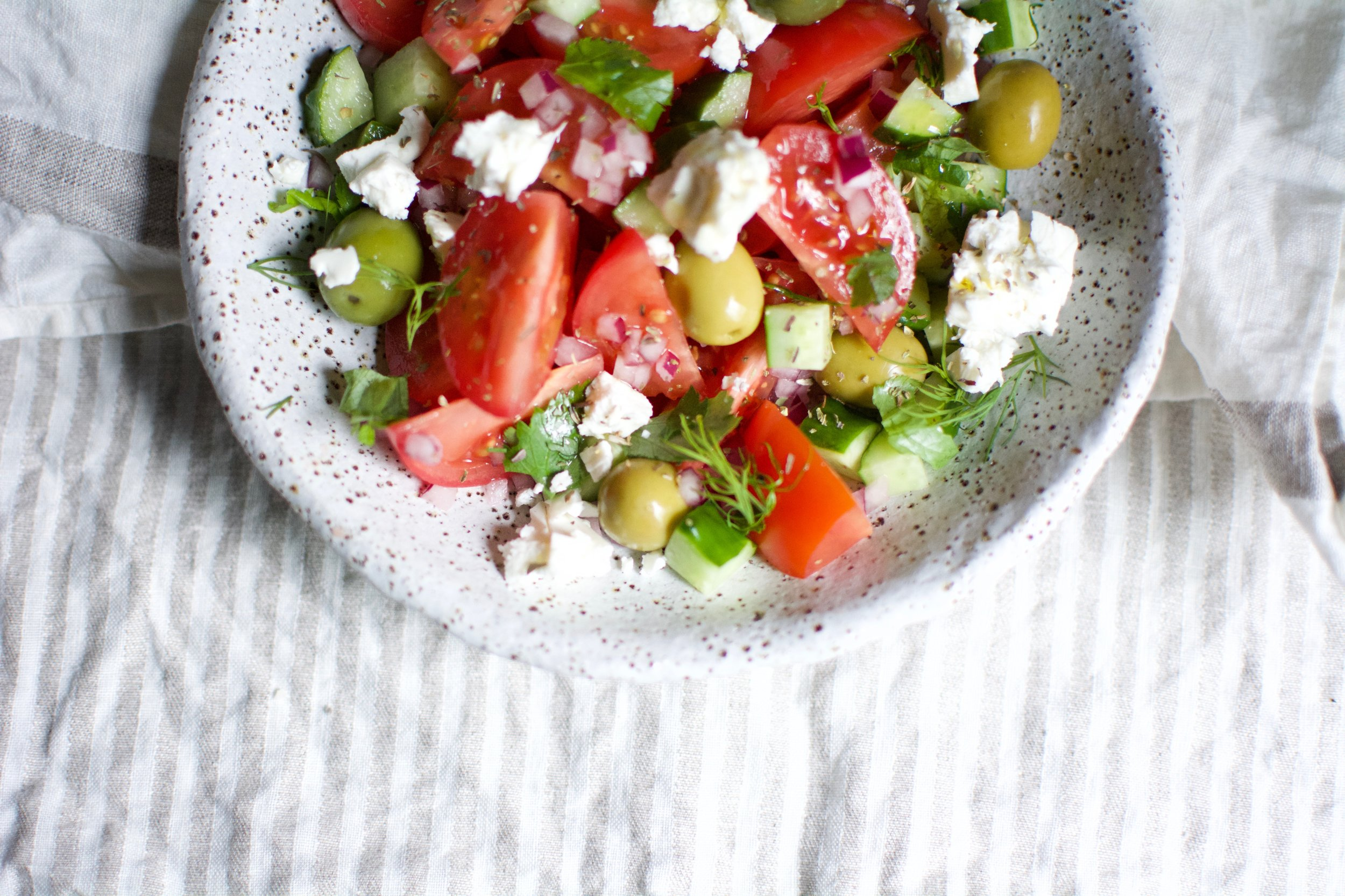 Mediterranean Diet | Extra Virgin Olive Oil | Greek Salad