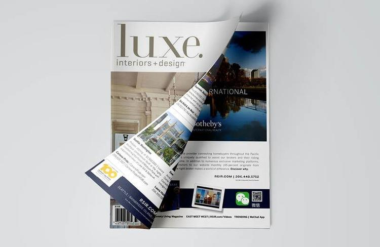 LUXE Magazine, Realogics Sotheby's International Realty Local Advertising