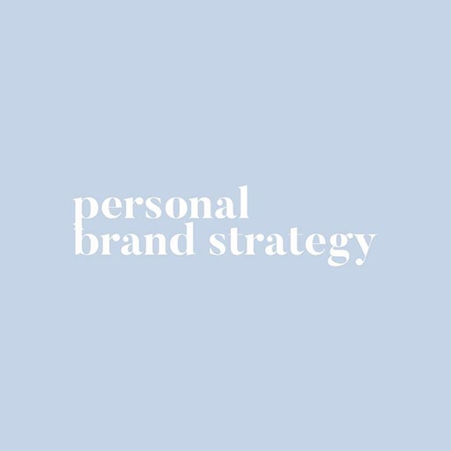 PERSONAL BRAND // Have you got a strategy for your personal brand? Does it align with your business brand? Perhaps it's all sort of in your head, but you don't know where to start? Personal brand is one of my favourite things to help clients with, and of course run workshops on and speak about! If you need any help, you know where to find me 🙌🏼