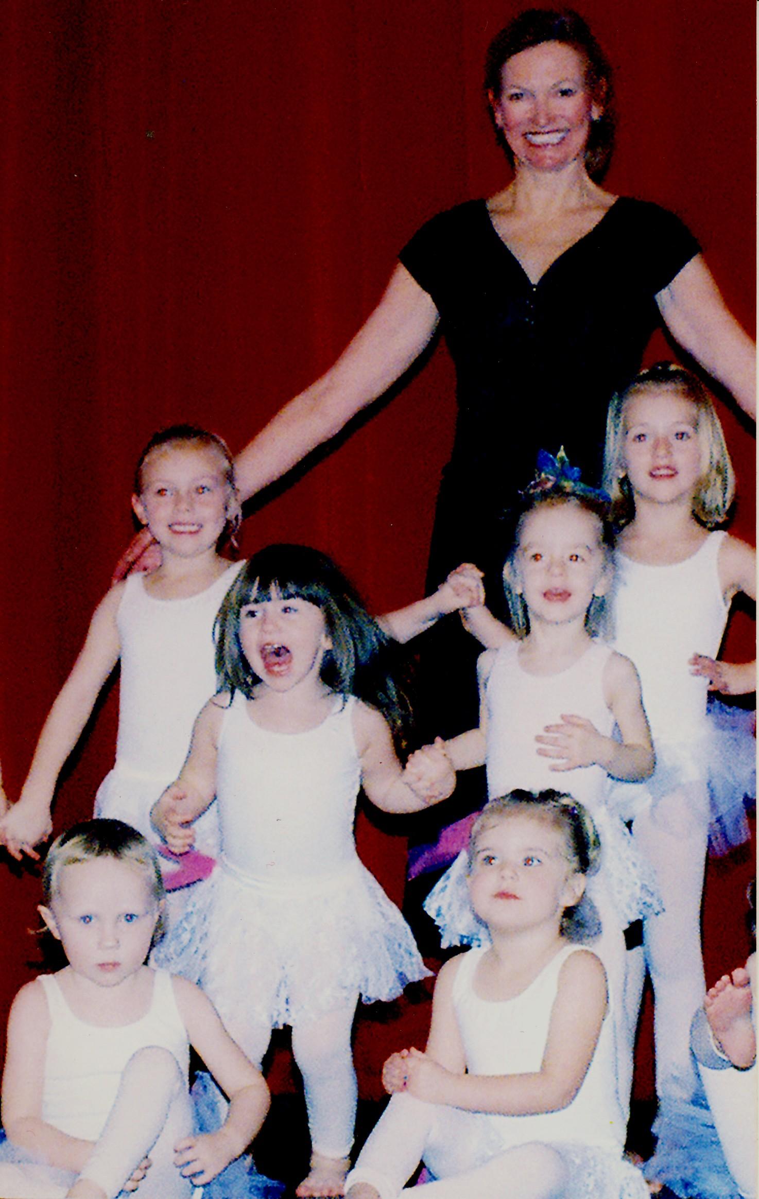 Deborah with Young Dancers.jpg