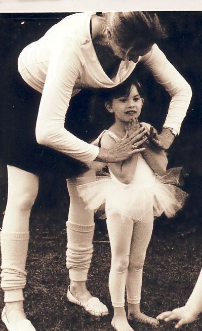 Deborah Helping Young Dancer.jpg