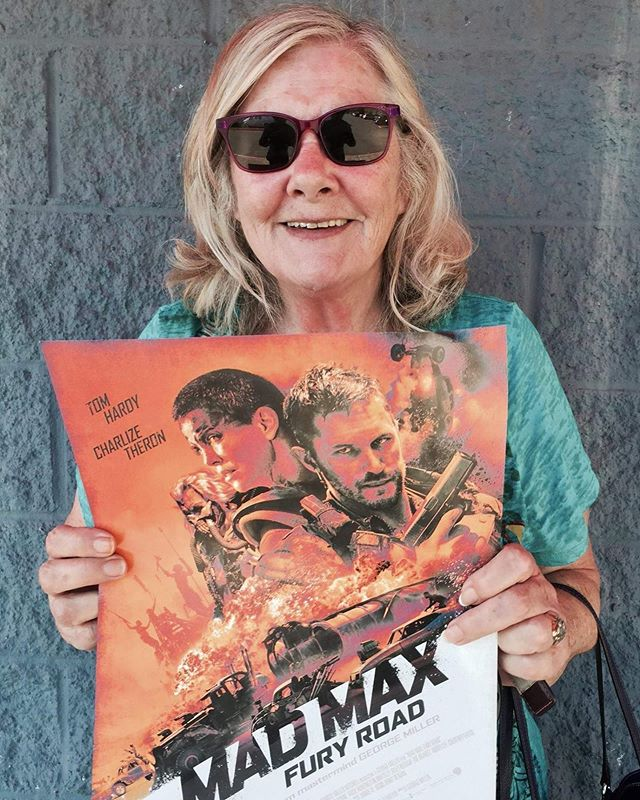 Mad Max with Rad Mom! Happy Birthdays to all you Moms put there! - MuBae Devin