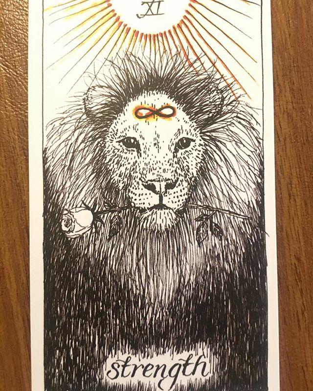 Had a Tarot card reading. Rawr.