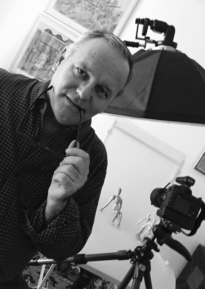 Frederic Bonneau , Visual Storyteller, Artist and Curator
