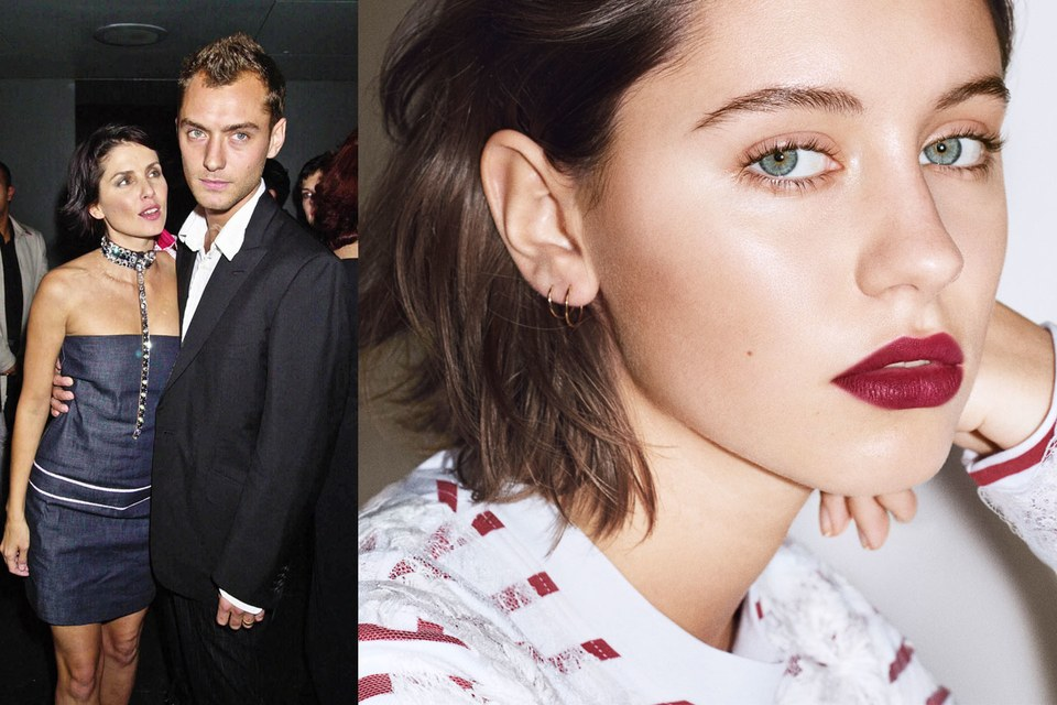 The new Liquid Lip Velvet campaign features the fresh face to the fashion-and-beauty scene, 16-year-old Iris Law (daughter of  Jude Law and  Sadie Frost ) in her first ever global campaign. The campaign was shot in London UK by Angelo Penetta .