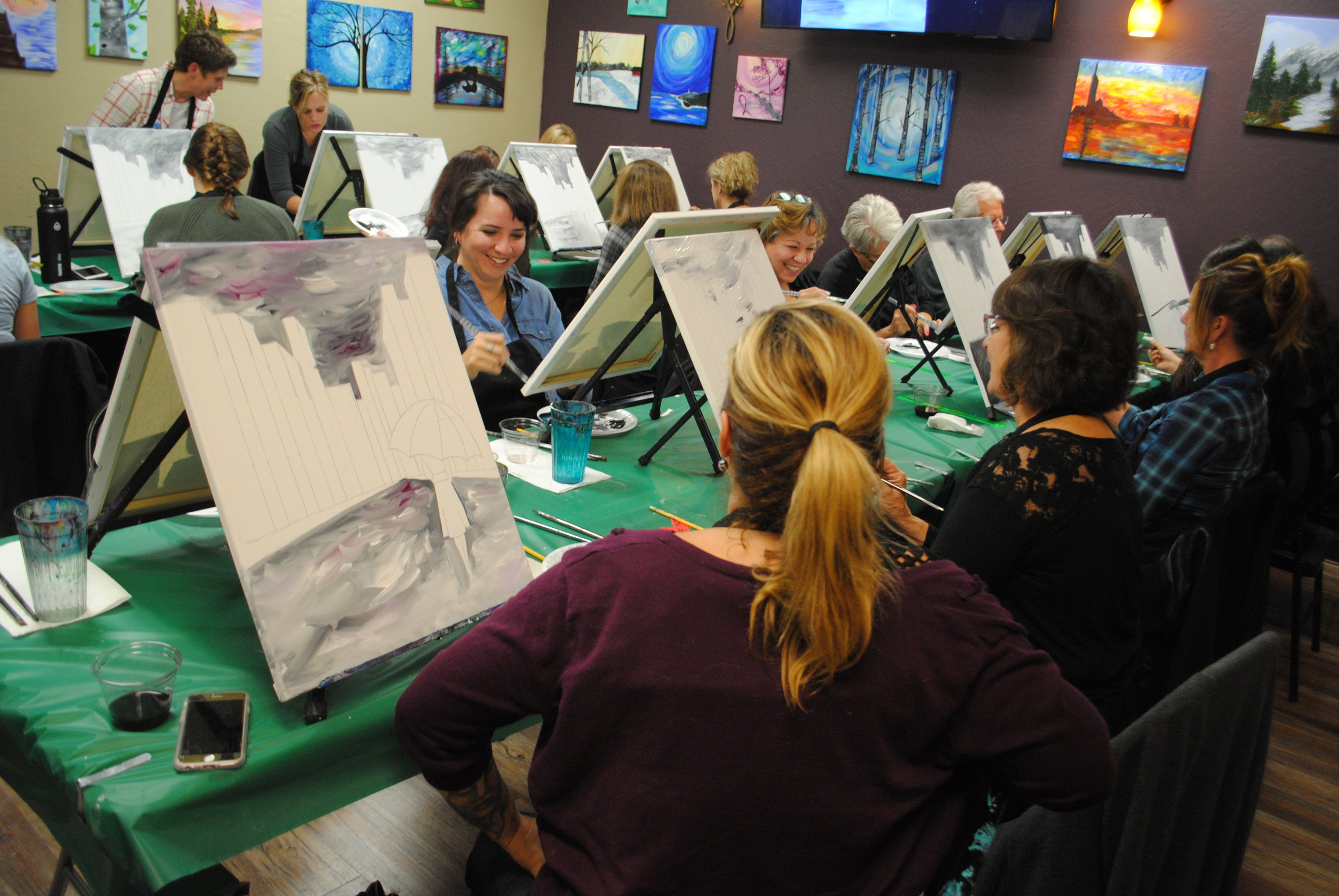 ART 4 JOY - Sip n' Paint - Central Point - What to do in Southern Oregon - Things to do - Events - Girls Night - Family - Kids (13).JPG