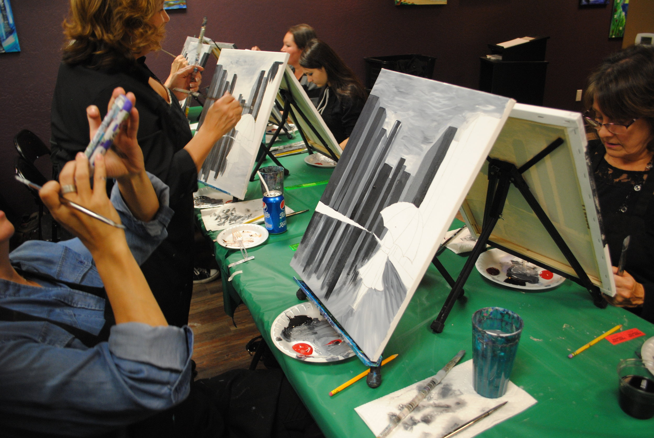 ART 4 JOY - Sip n' Paint - Central Point - What to do in Southern Oregon - Things to do - Events - Girls Night - Family - Kids (21).JPG