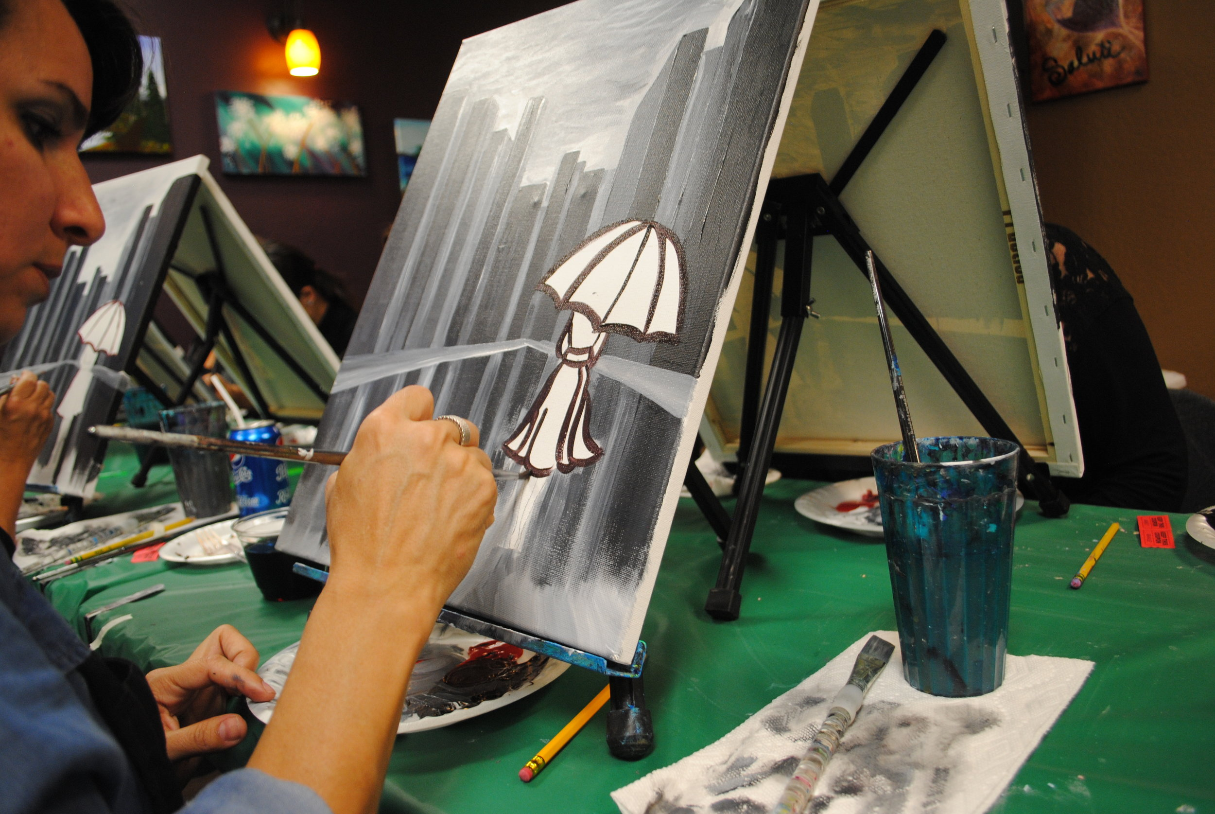 ART 4 JOY - Sip n' Paint - Central Point - What to do in Southern Oregon - Things to do - Events - Girls Night - Family - Kids (26).JPG