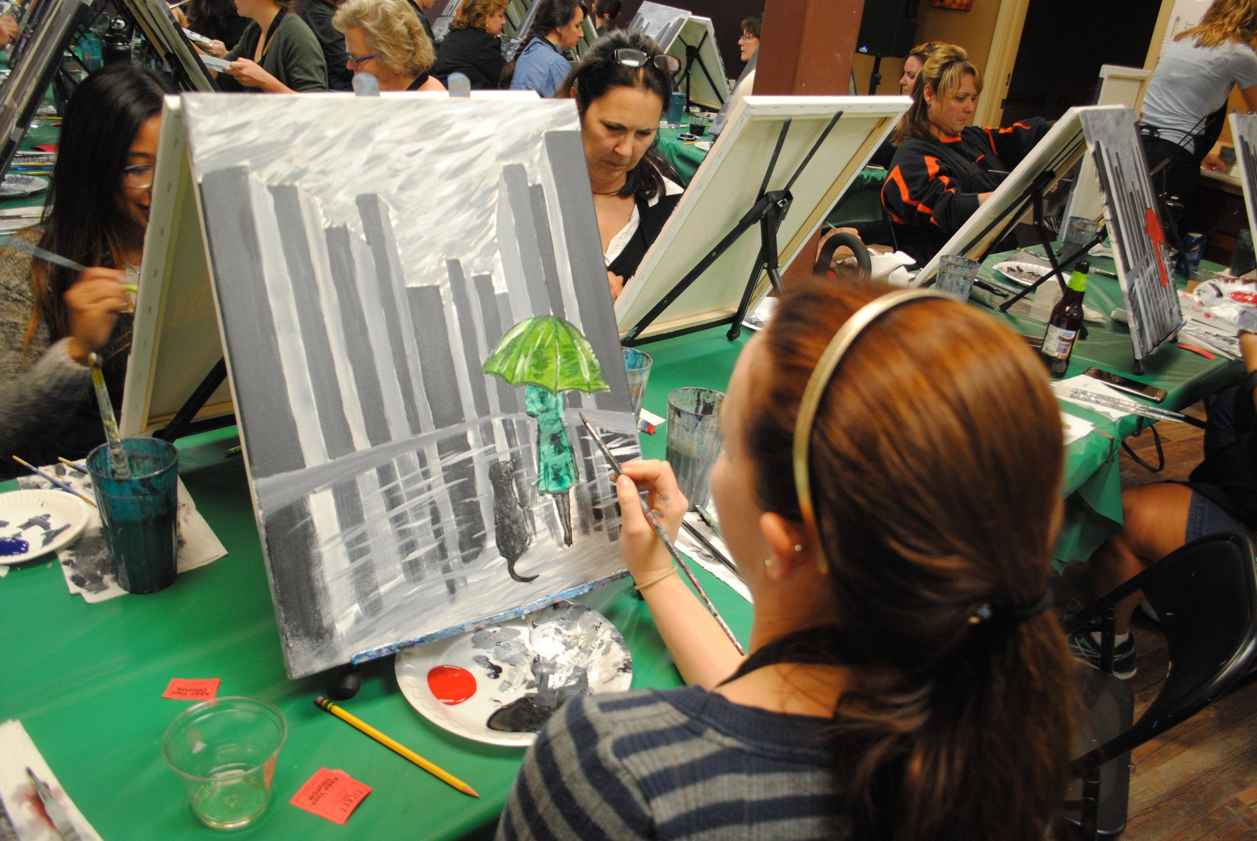 ART 4 JOY - Sip n' Paint - Central Point - What to do in Southern Oregon - Things to do - Events - Girls Night - Family - Kids (28).JPG