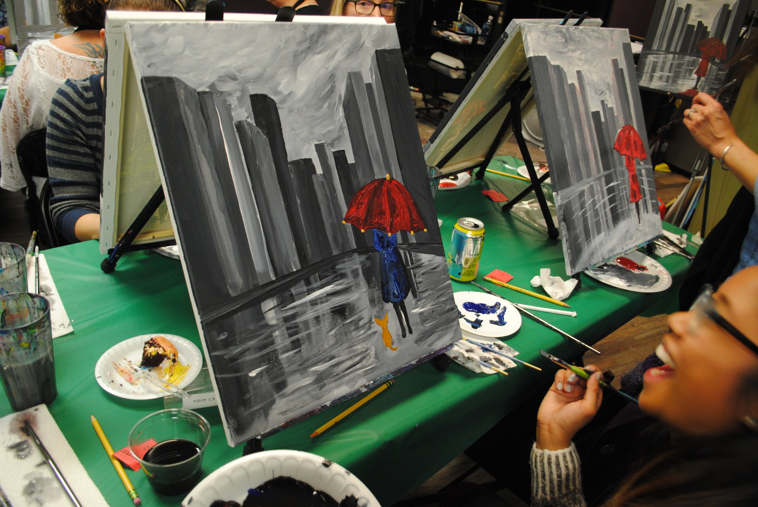 ART 4 JOY - Sip n' Paint - Central Point - What to do in Southern Oregon - Things to do - Events - Girls Night - Family - Kids (27).JPG