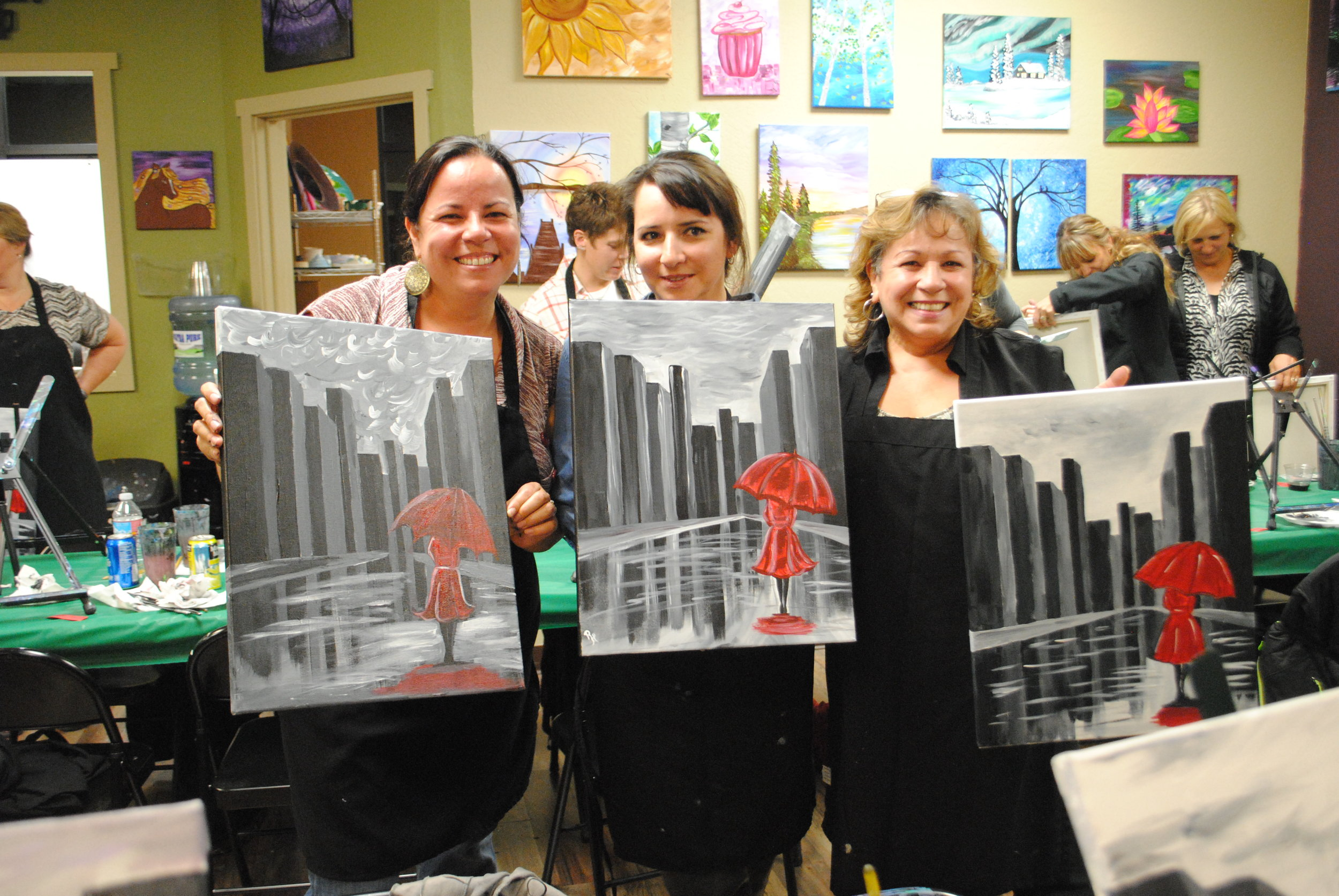 ART 4 JOY - Sip n' Paint - Central Point - What to do in Southern Oregon - Things to do - Events - Girls Night - Family - Kids (38).JPG