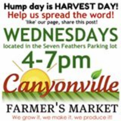 CANYONVILLE FARMER'S MARKET - What to do in Southern Oregon - Things to do in Canyonville with Kids or Family