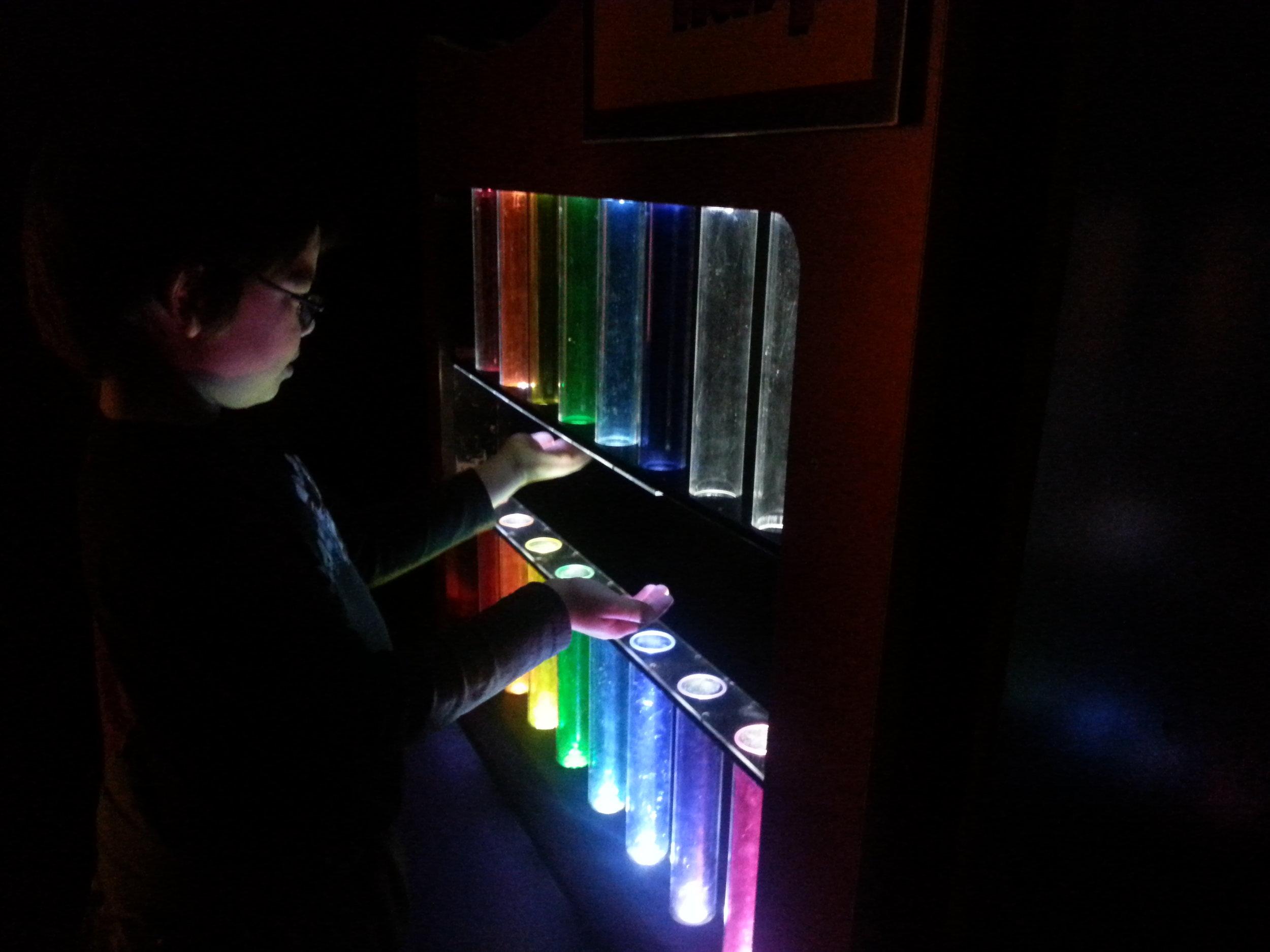 SCIENCEWORKS - Light Harp