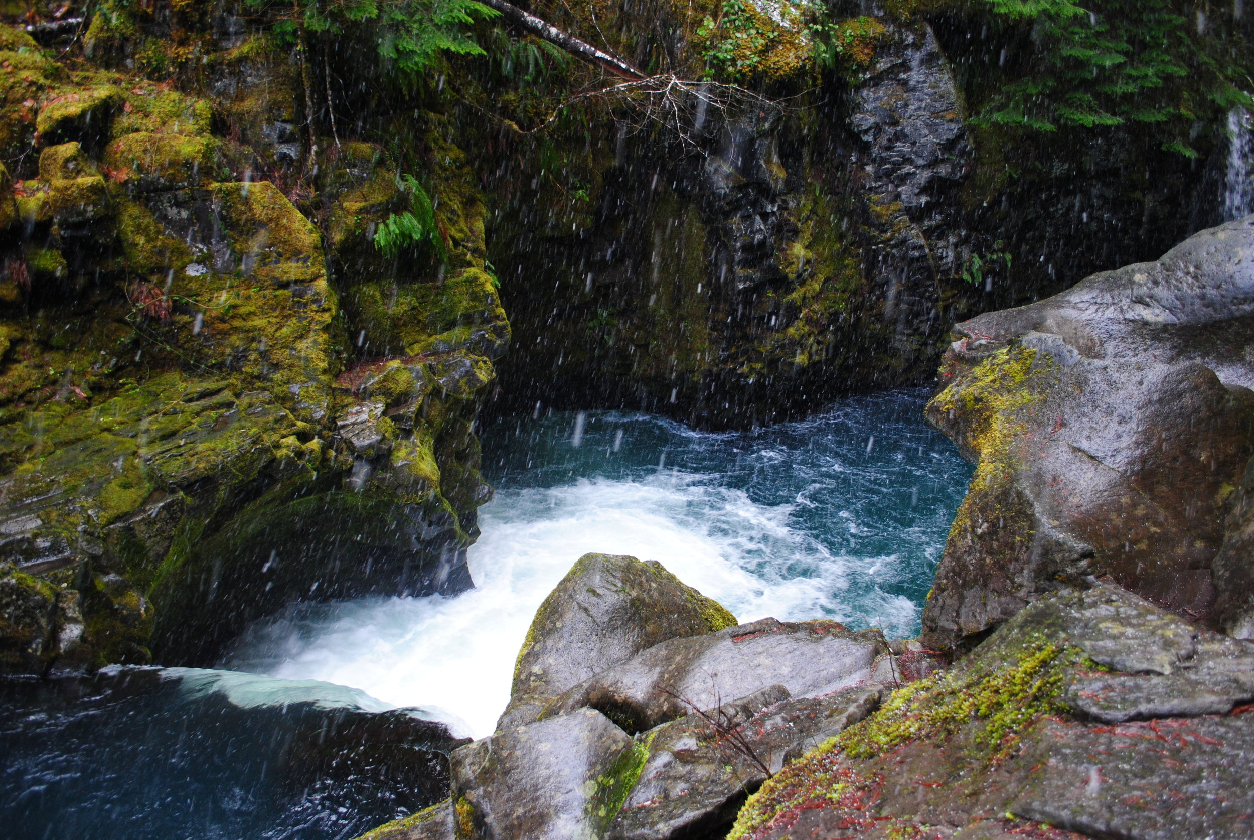 TOKETEE FALLS - What to do in Southern Oregon - Things to do in Roseburg - Diamond Lake - Waterfalls