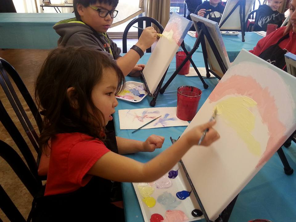 VISIONS OF WONDERLAND - What to do in Southern Oregon - Things to do in Medford - Kids - Painting