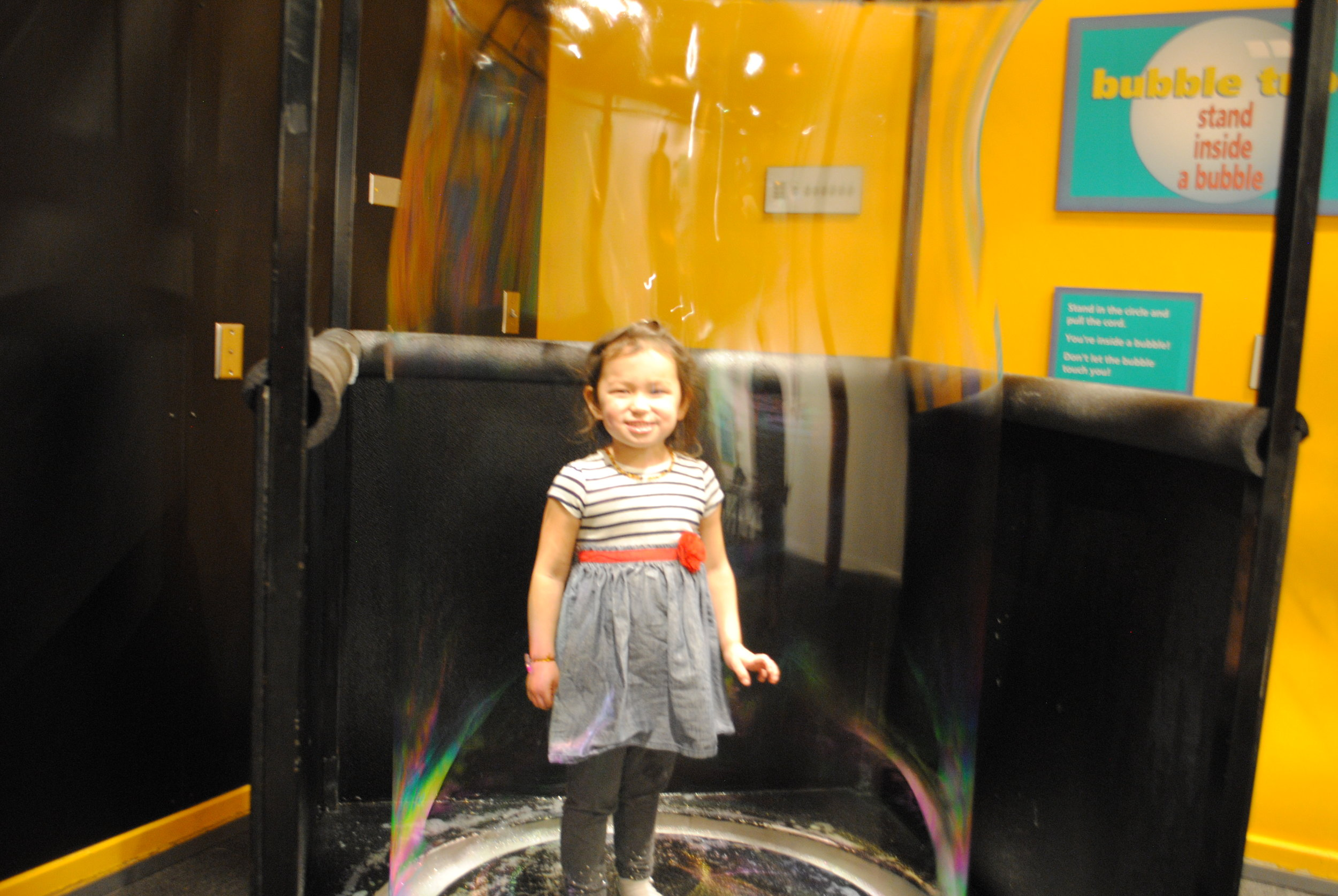 The Bubble-ology Room at ScienceWorks