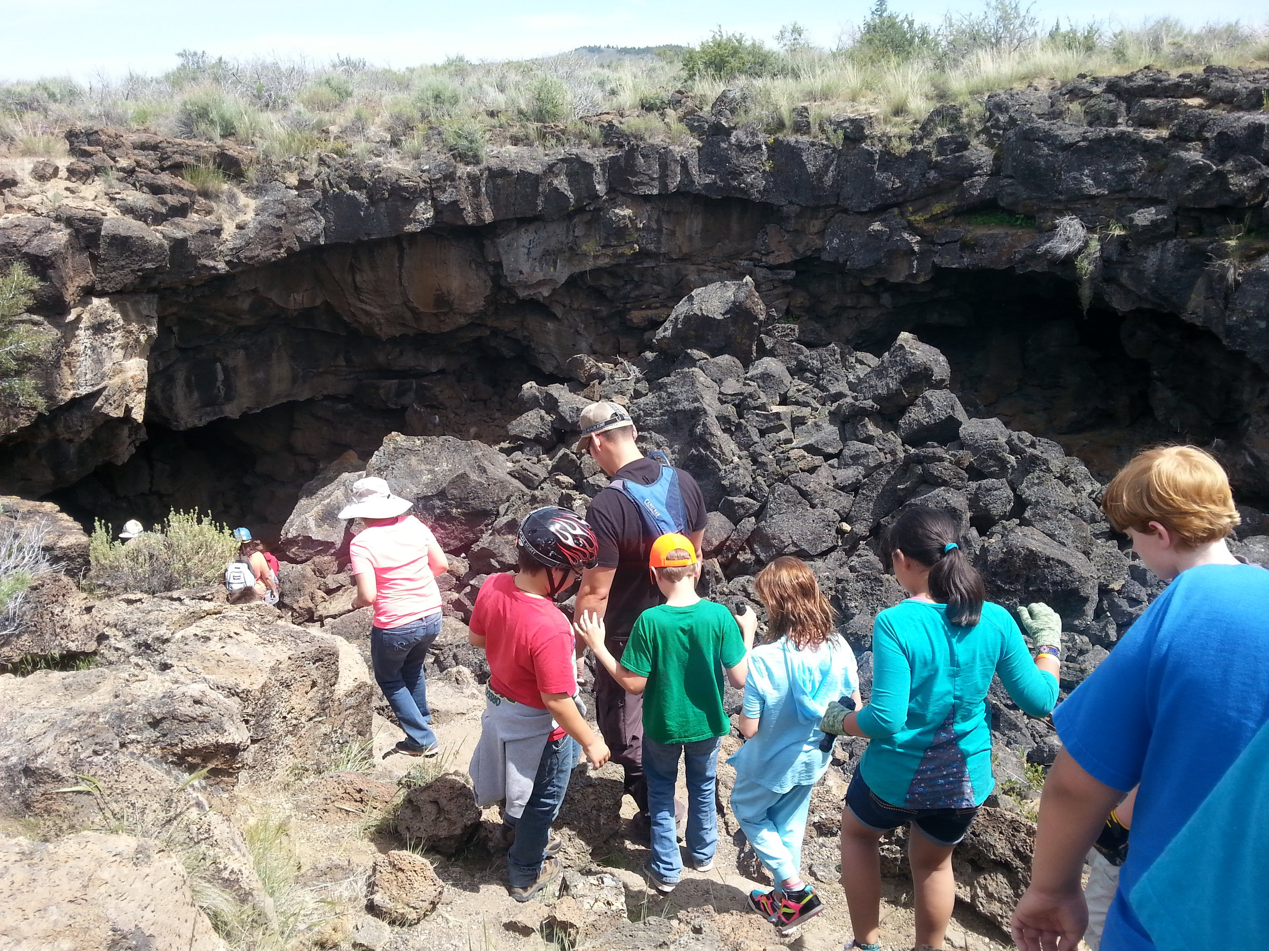 LAVA BEDS NATIONAL MONUMENT - What to do for Spring Break in Southern Oregon- Things to do - Places to go with kids