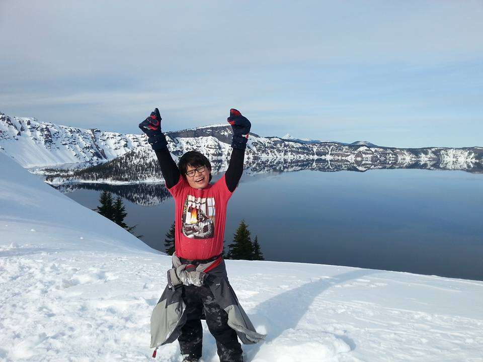 CRATER LAKE SNOWSHOEING - What to do for Spring Break in Southern Oregon- Things to do - Places to go - events