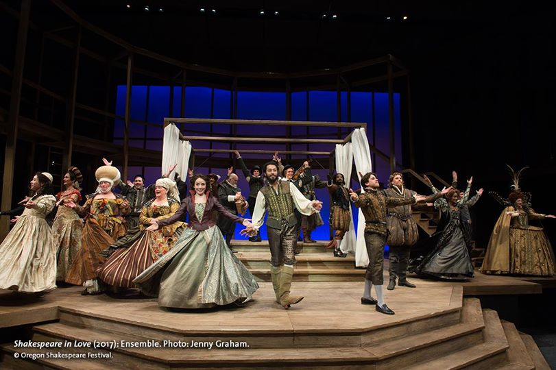 SHAKESPEARE IN LOVE - Oregon Shakespeare Festival - What to do in Southern Oregon - Things to do - Date Night - Mother's Day