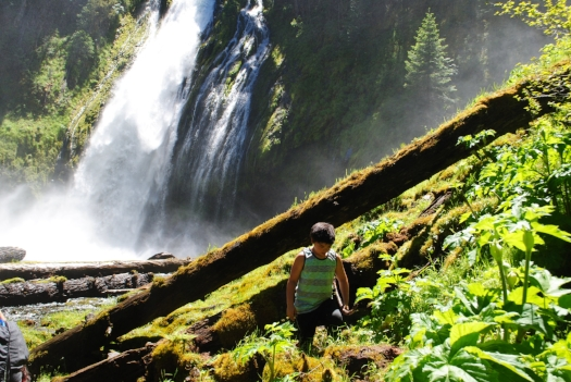 LEMOLO FALLS - Waterfalls  - 17 SOUTHERN OREGON ADVENTURES YOU DO NOT WANT TO MISS - What to do in Southern Oregon - Kids