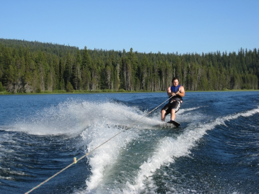 WAKE BOARDING - LAKE OF THE WOODS - 17 SOUTHERN OREGON ADVENTURES YOU DO NOT WANT TO MISS - What to do in Southern Oregon - Kids