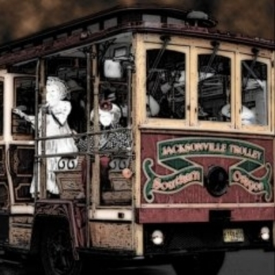 JACKSONVILLE HAUNTED TROLLEY TOURS - What to do in Southern Oregon - October - Fall