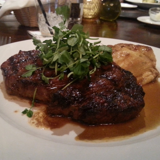 RIB EYE - Larks Medford - Where to eat in Medford - What to do in Southern Oregon - Southern Oregon Eats - Food