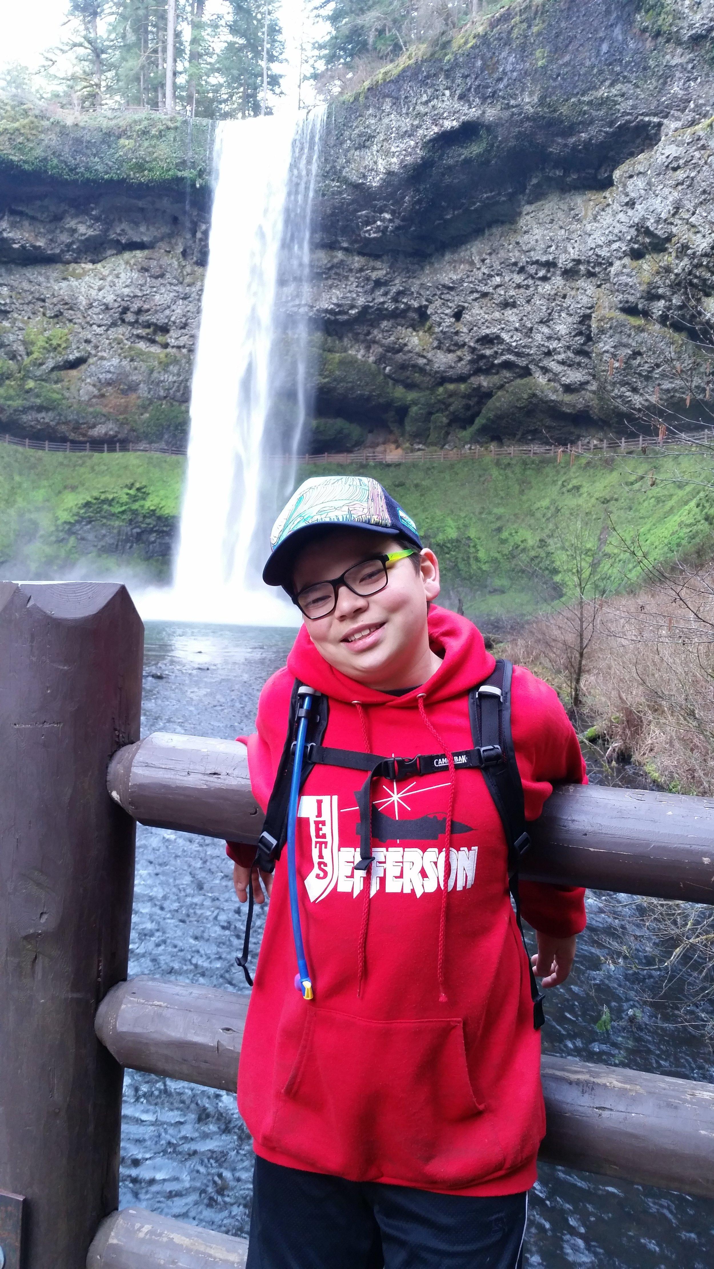 SILVER FALLS STATE PARK - South Falls - Oregon