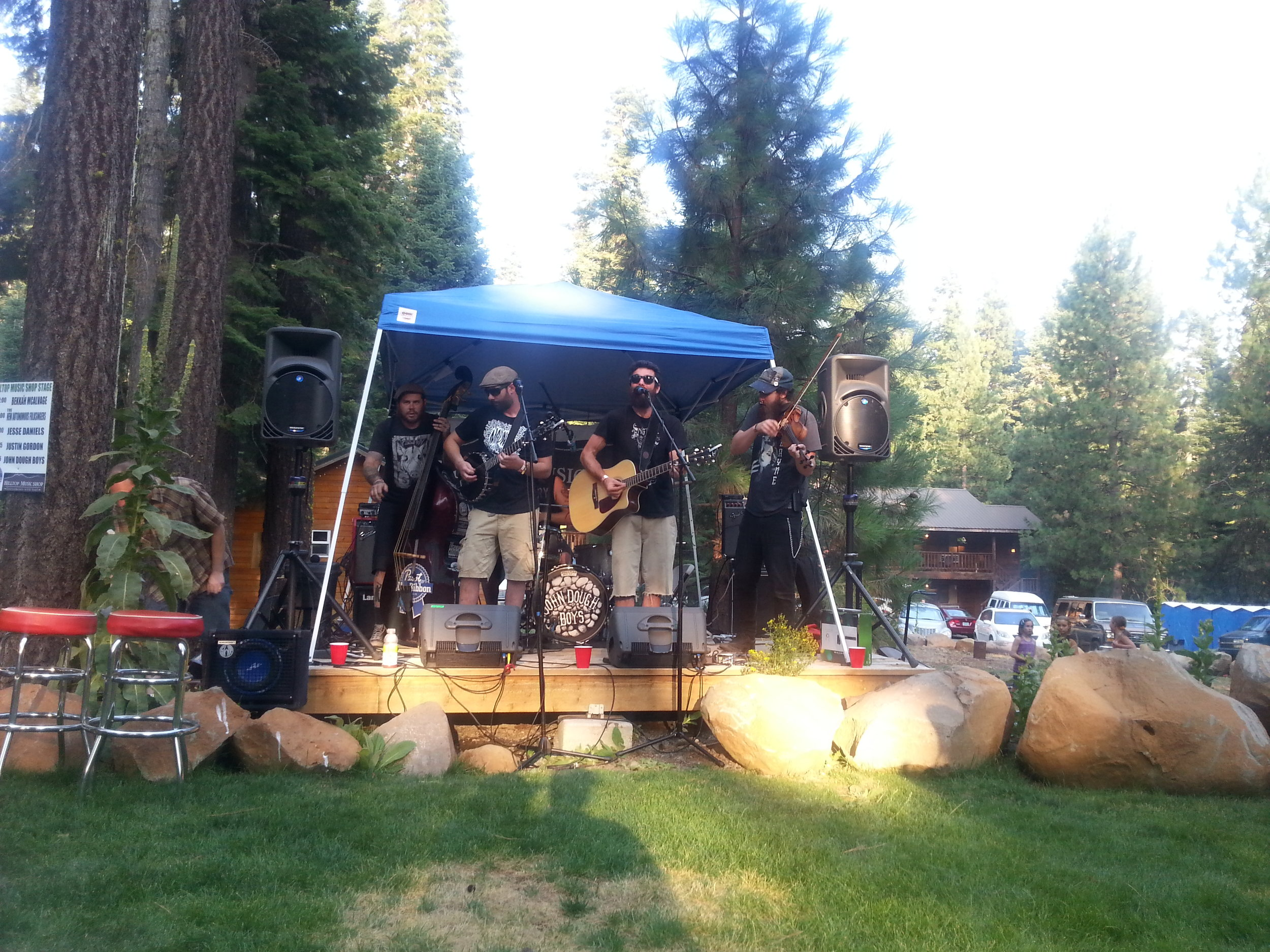 John Dough Boys at West Coast Country Music Festival