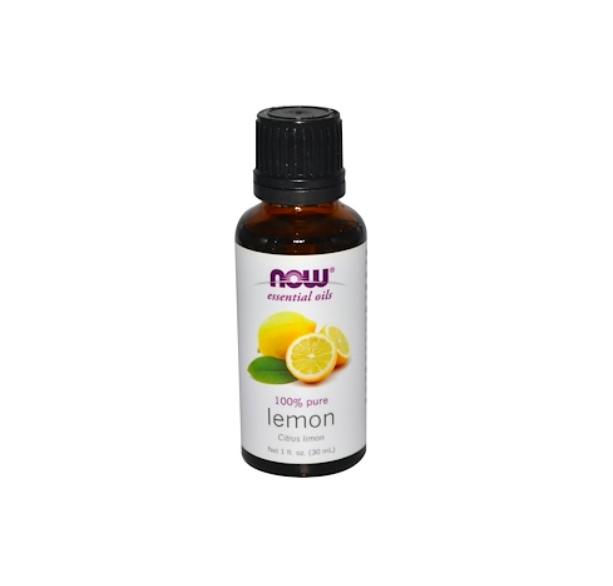 NOW lemon essential oil - $4.99 for 150 lemon peels.