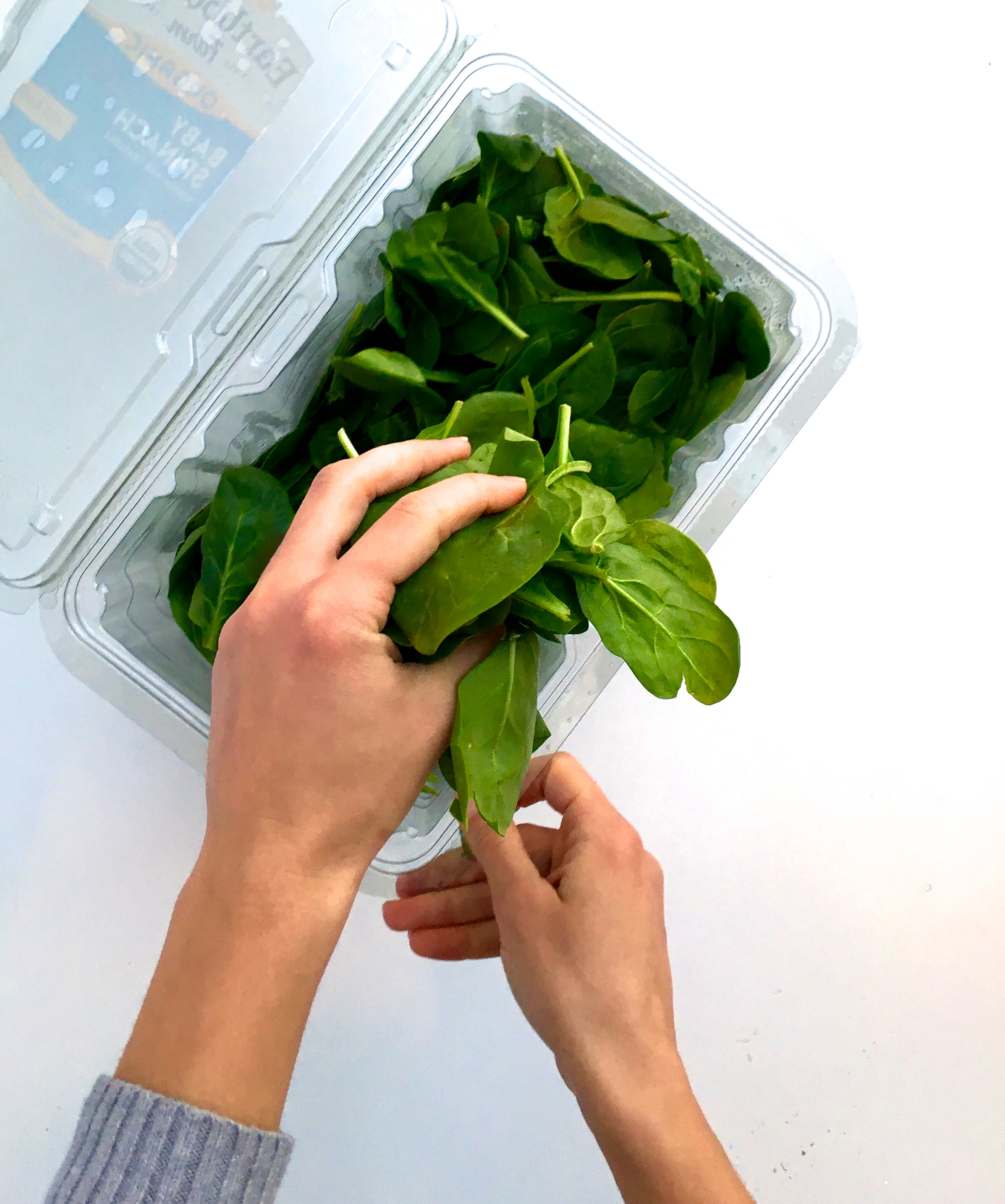 Behold…the power of spinach.