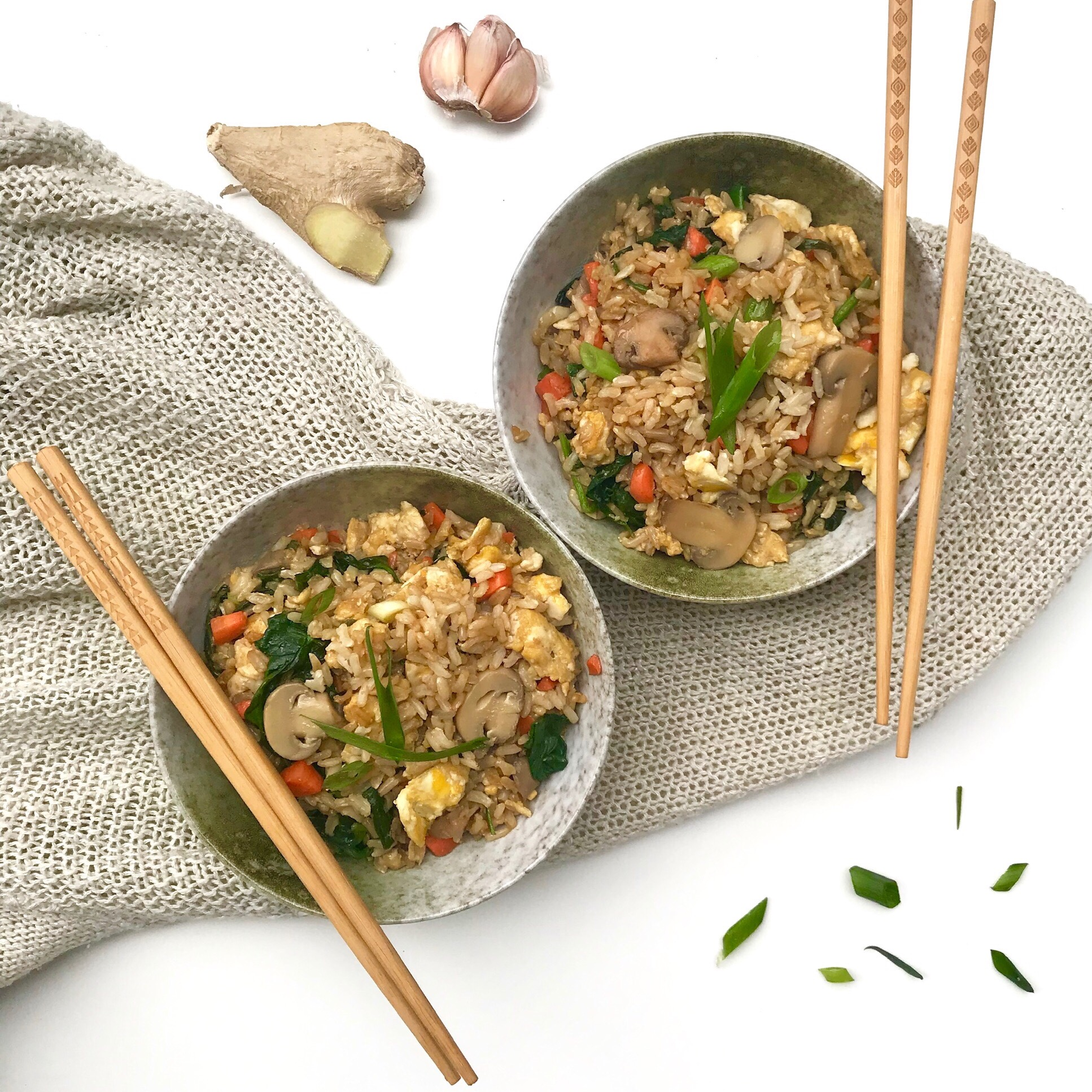 The BEST Easy Fried Rice
