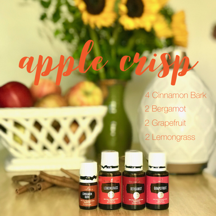 Click for some of my favorite fall diffuser recipes!