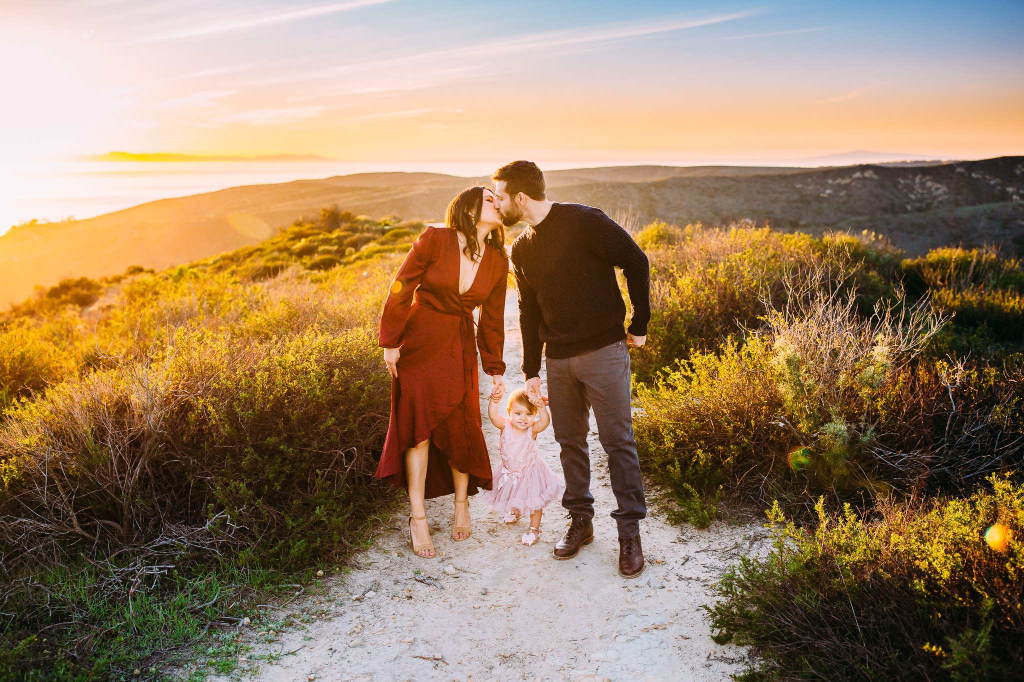natural family photography in Orange County ,California