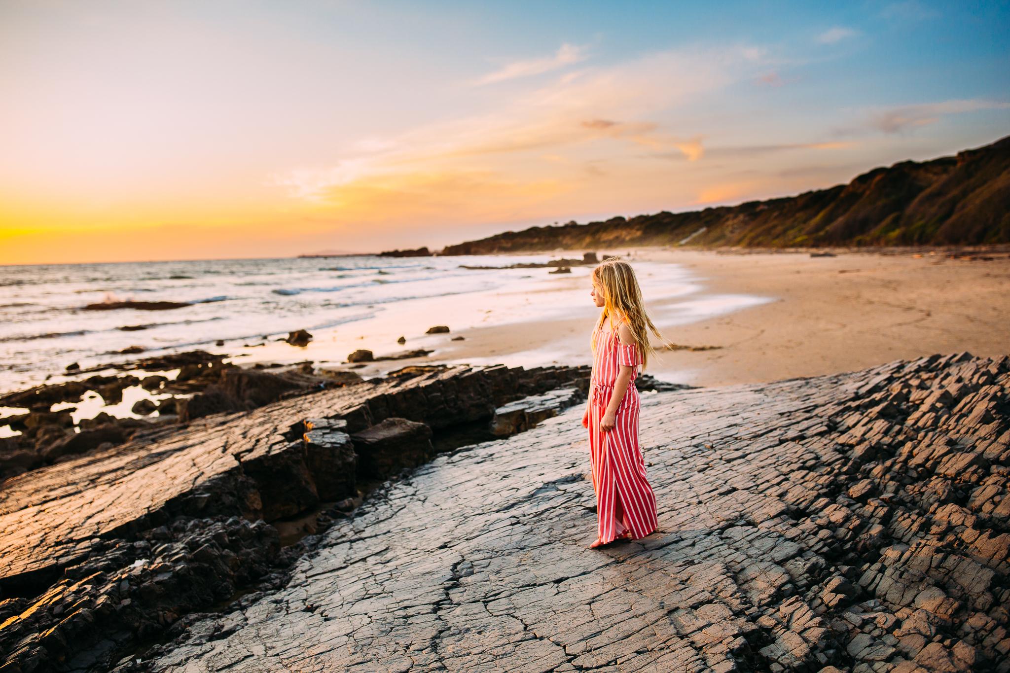 amily photo session at Newport Beach in Orange County, CA