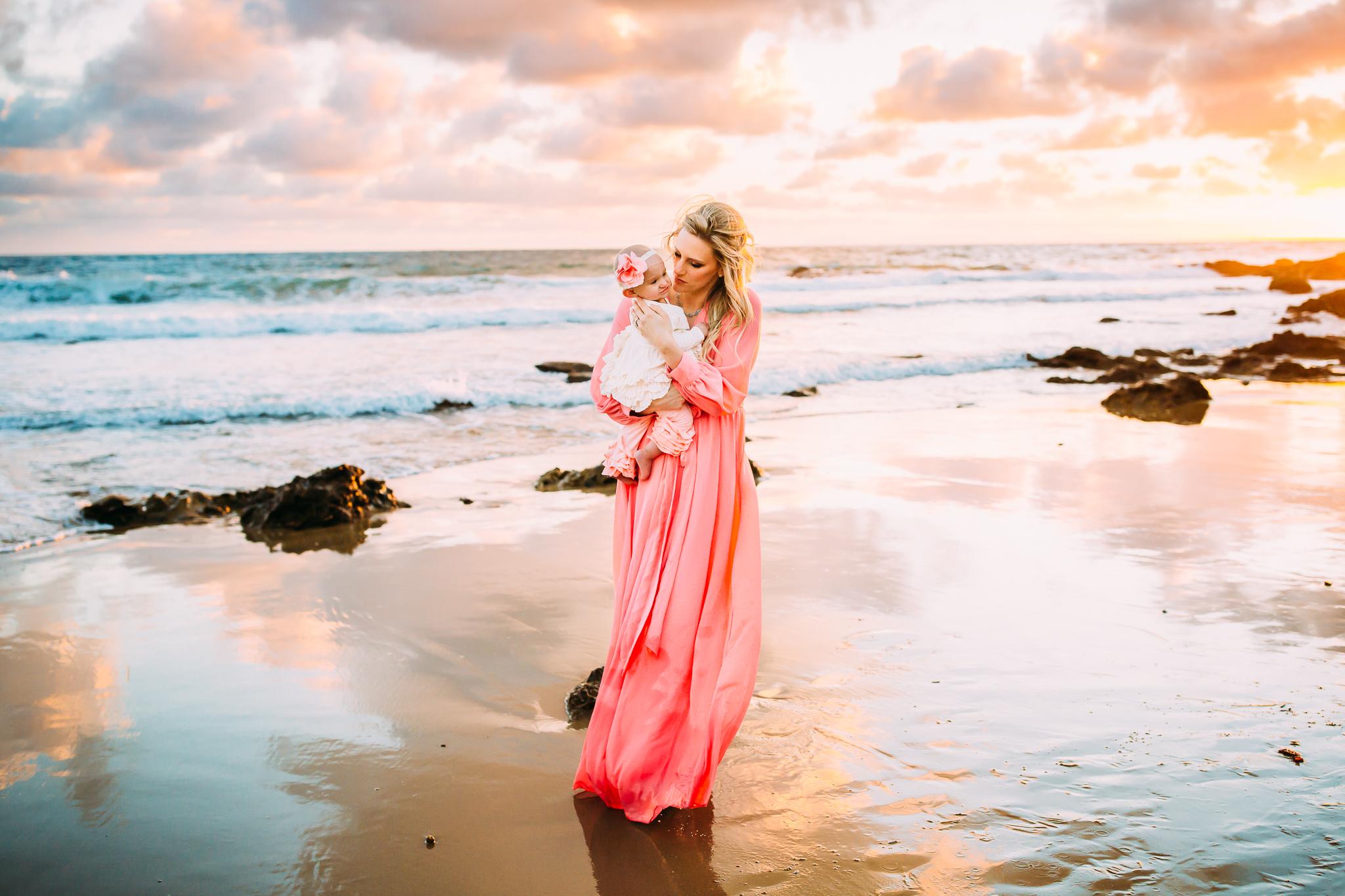 lifestyle family photoshoot in Newport Beach, Orange County, CA