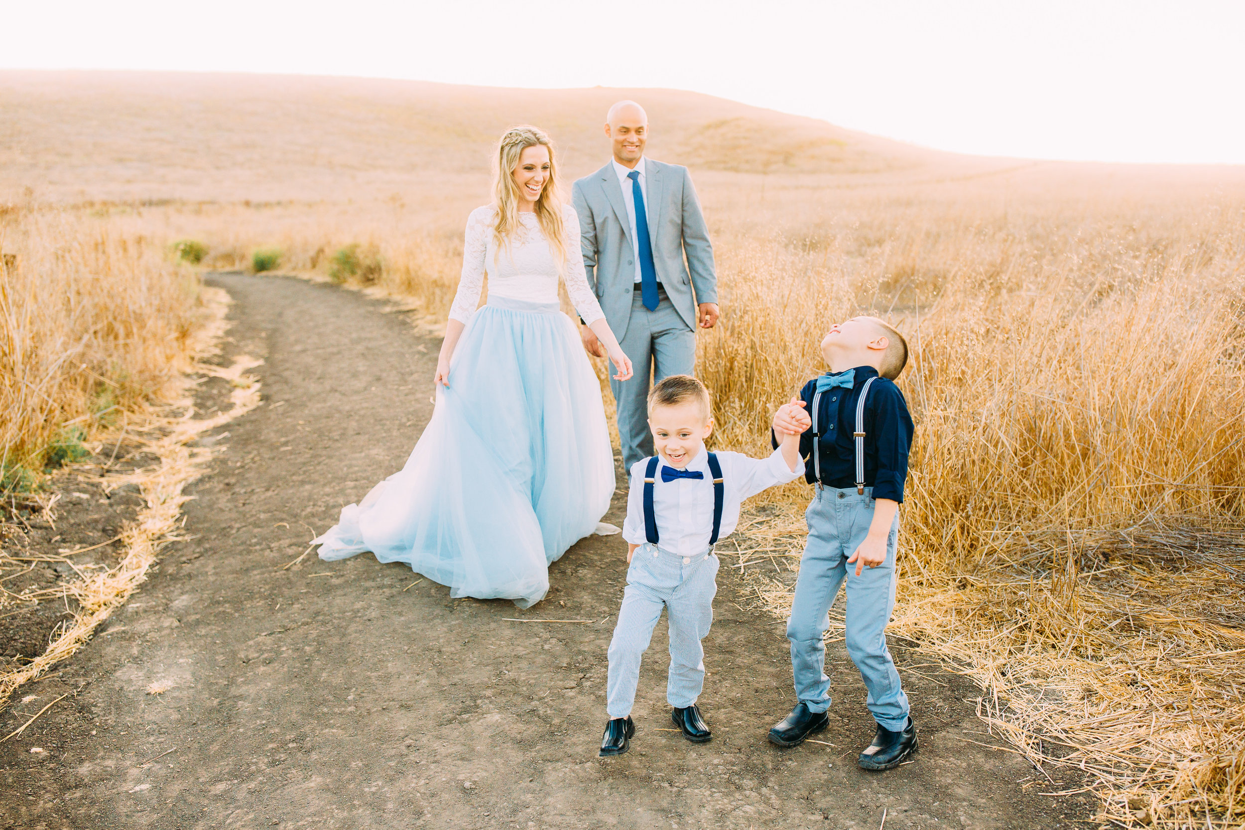 family photo session in Orange County, CA