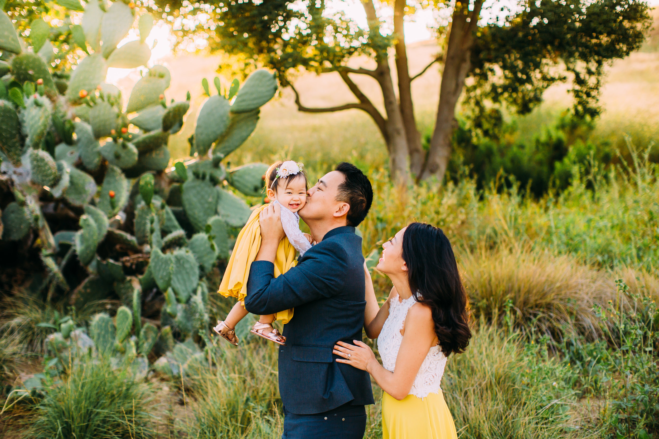 rustic family photo session in Irvine, CA