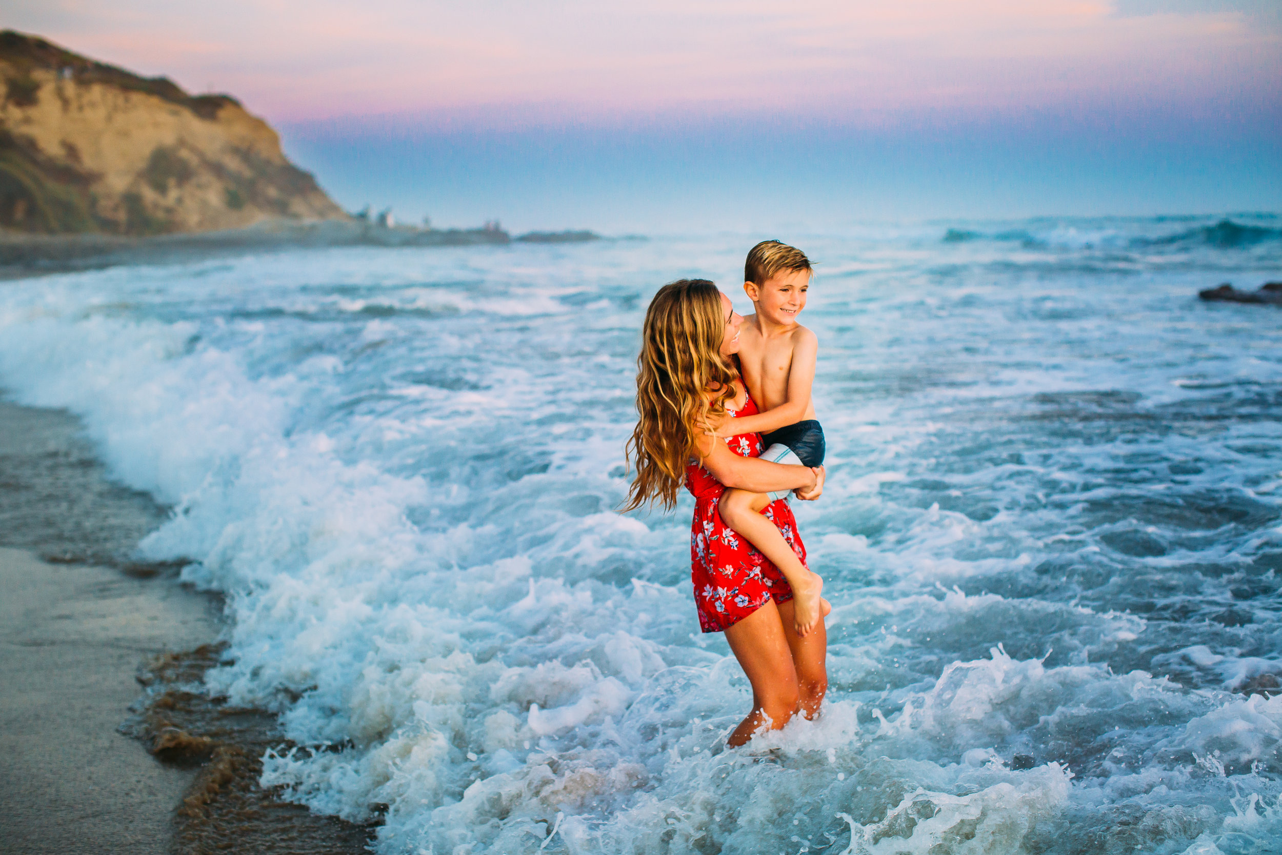 family photo shoot in Newport Beach, Orange County, CA