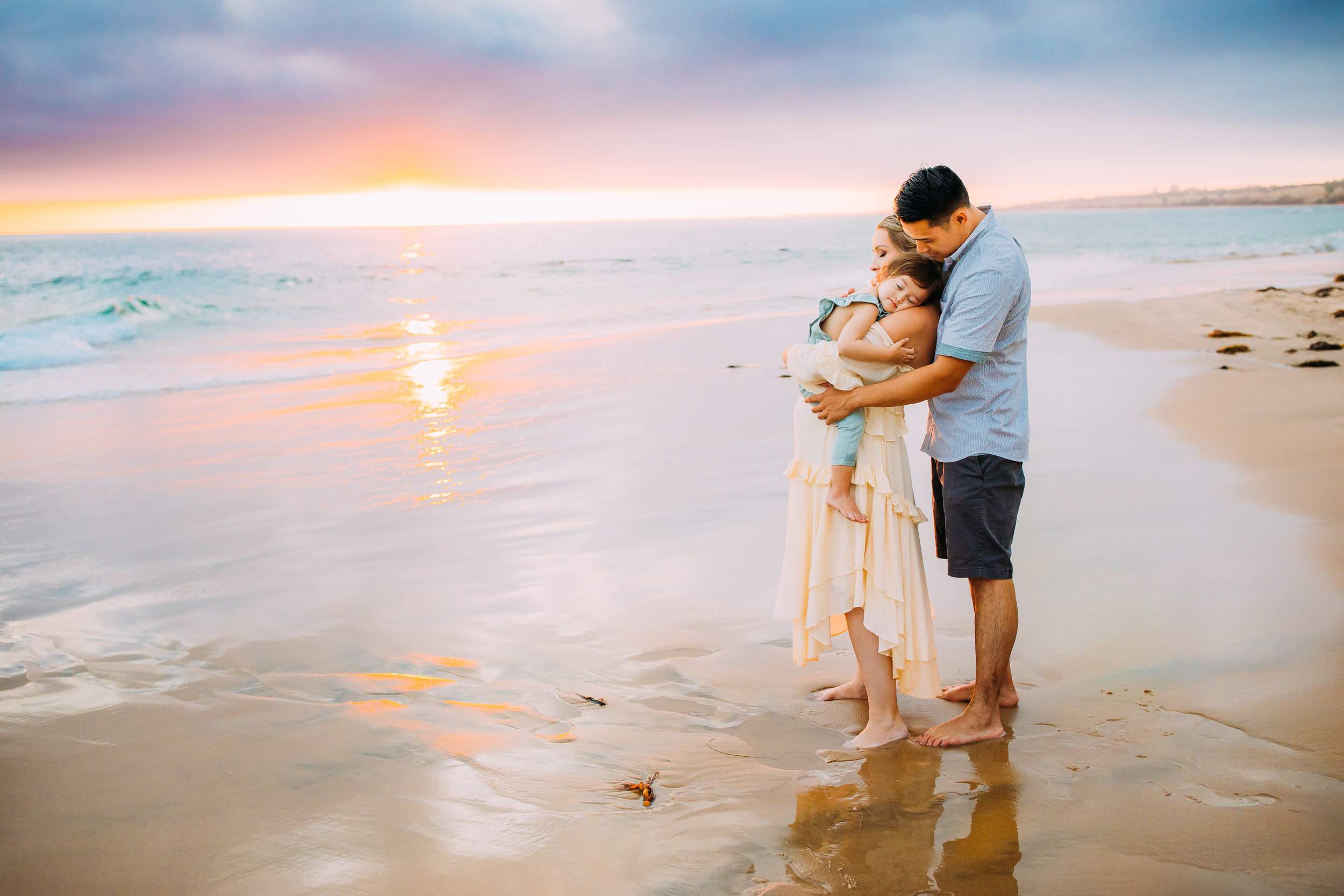 beautiful family photo session in Newport Beach, Orange County CA