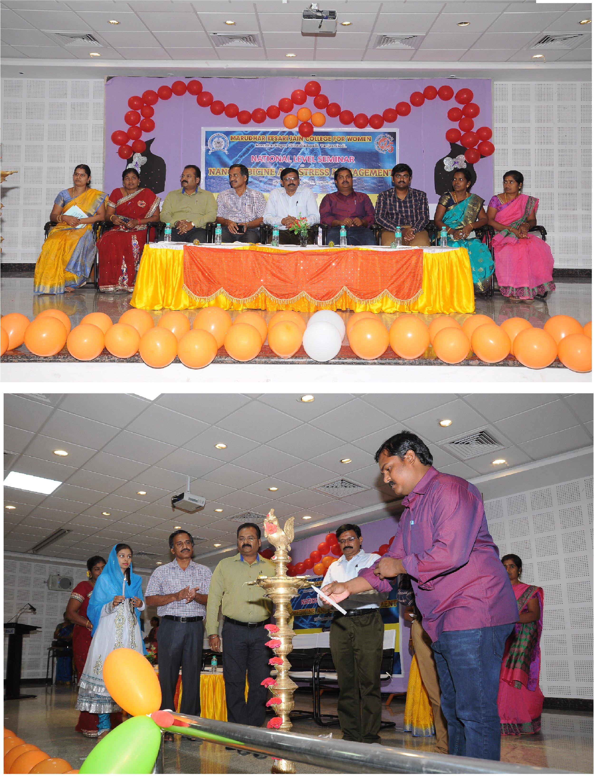 - Chief Guest and delivered guest LectureNational Level Conference on Nanomedicine and Stress management on Nanobiomedicine Organised by PG and Research Department of Biochemistry, Biotechnology and Nutrition, FSM and Dietetics, Maradhar Kesari Jain College for Women, Vaniambadi, TN, India.