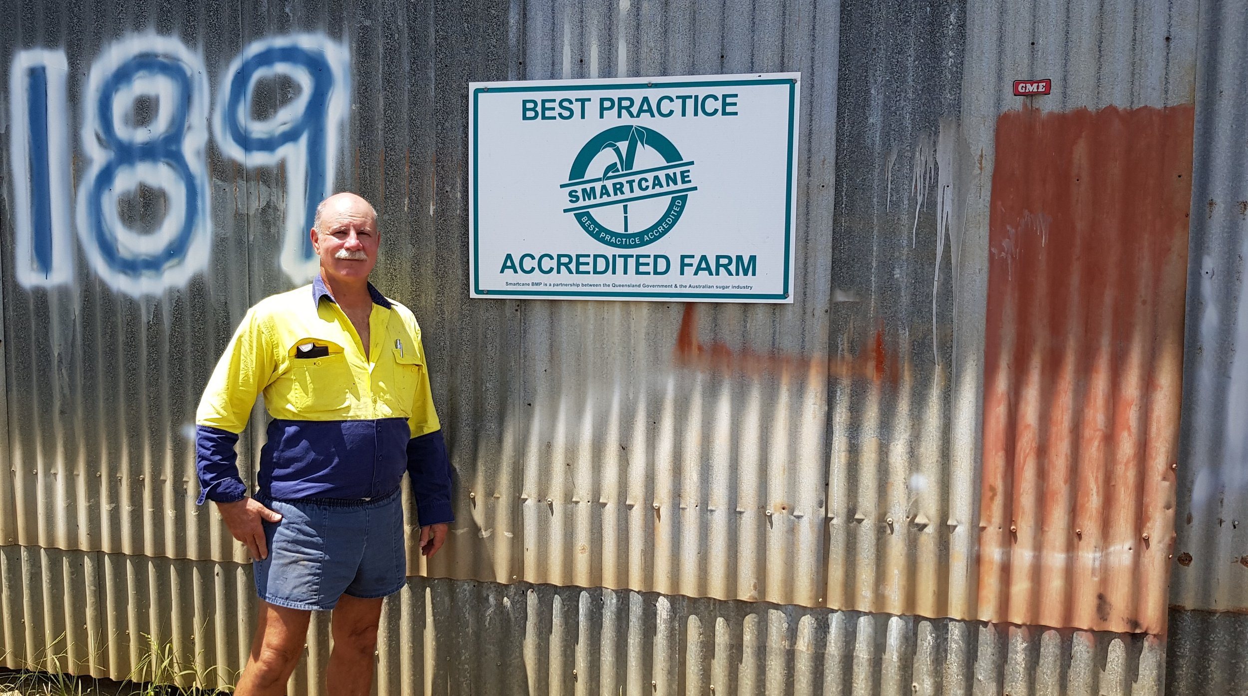 Babinda grower, Raymond Vicarioli, was one of the first growers in his district to become accredited in Smartcane BMP and was recognised as CANEGROWERS Sugarcane Grower of the Year in 2011