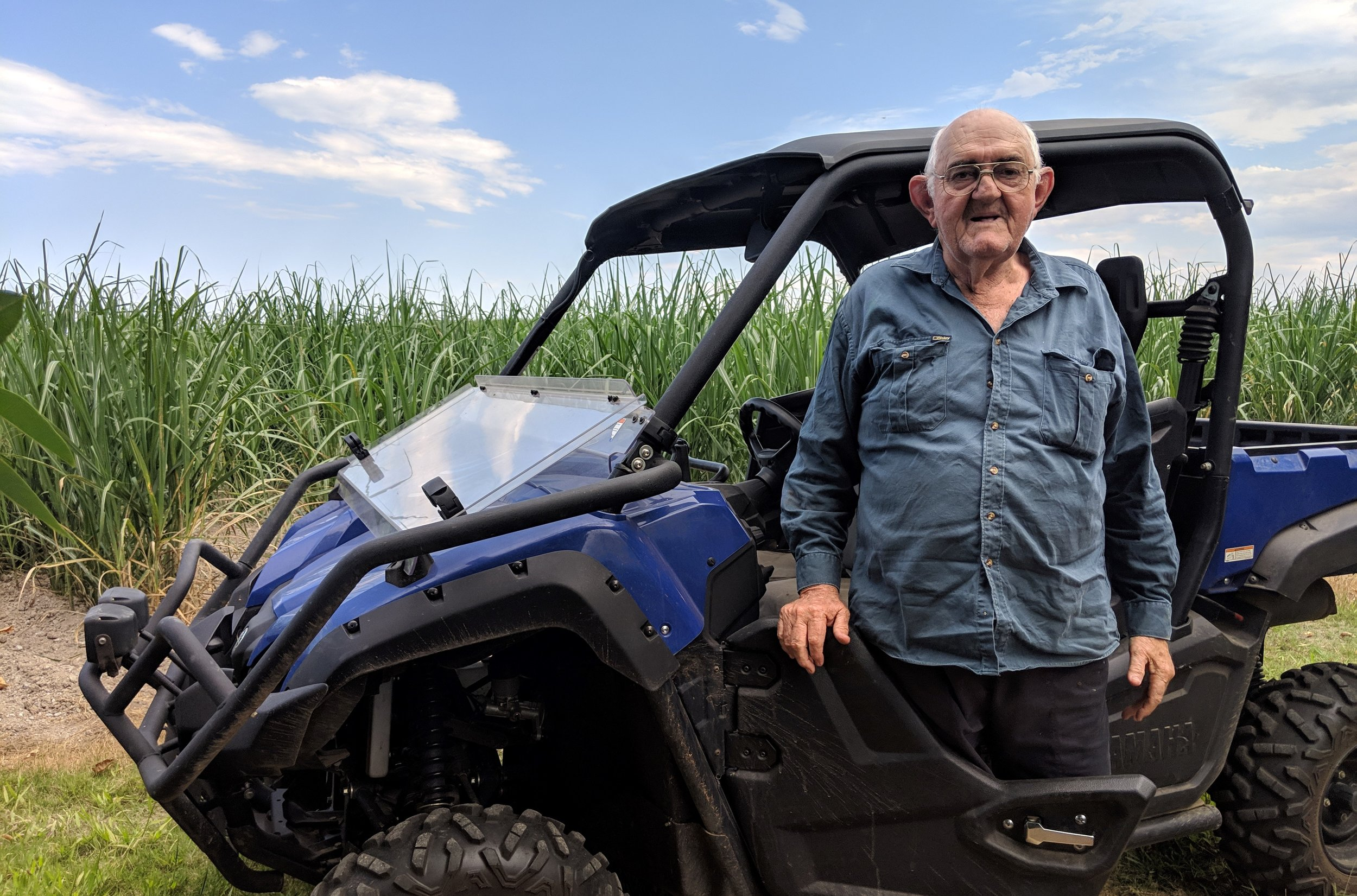 With more than 60 years' experience, Innisfail cane grower Denis Gattera has seen the sugarcane industry embrace new technology, machinery and practices.