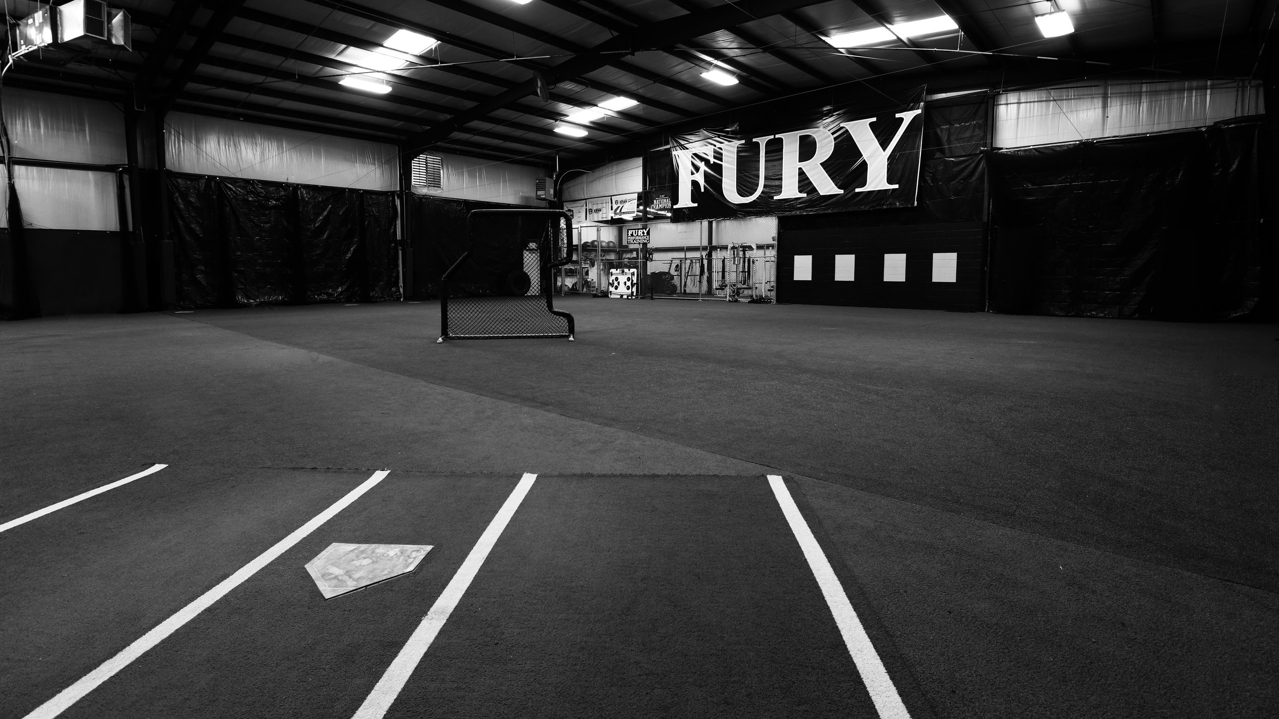 6o' base full indoor infield